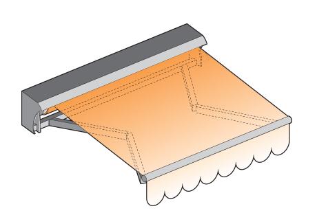 Store de terrasse ou store banne